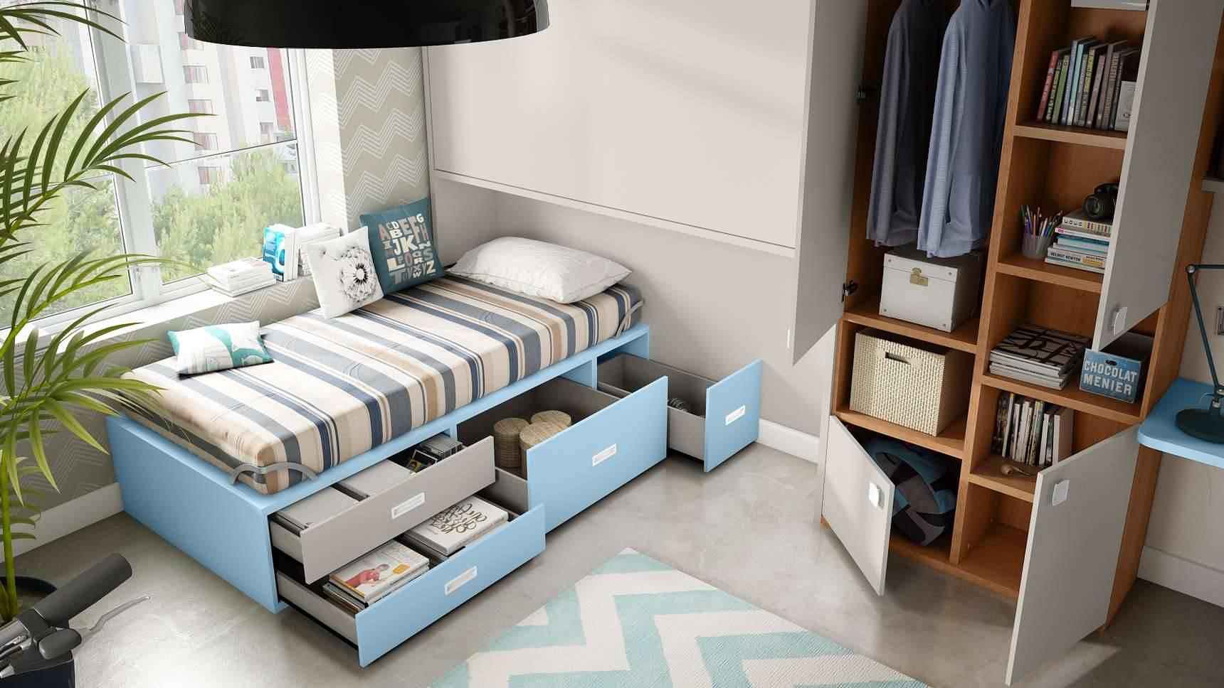 Ideh bita cama abatible soft y sistema box - Sistema cama abatible ...