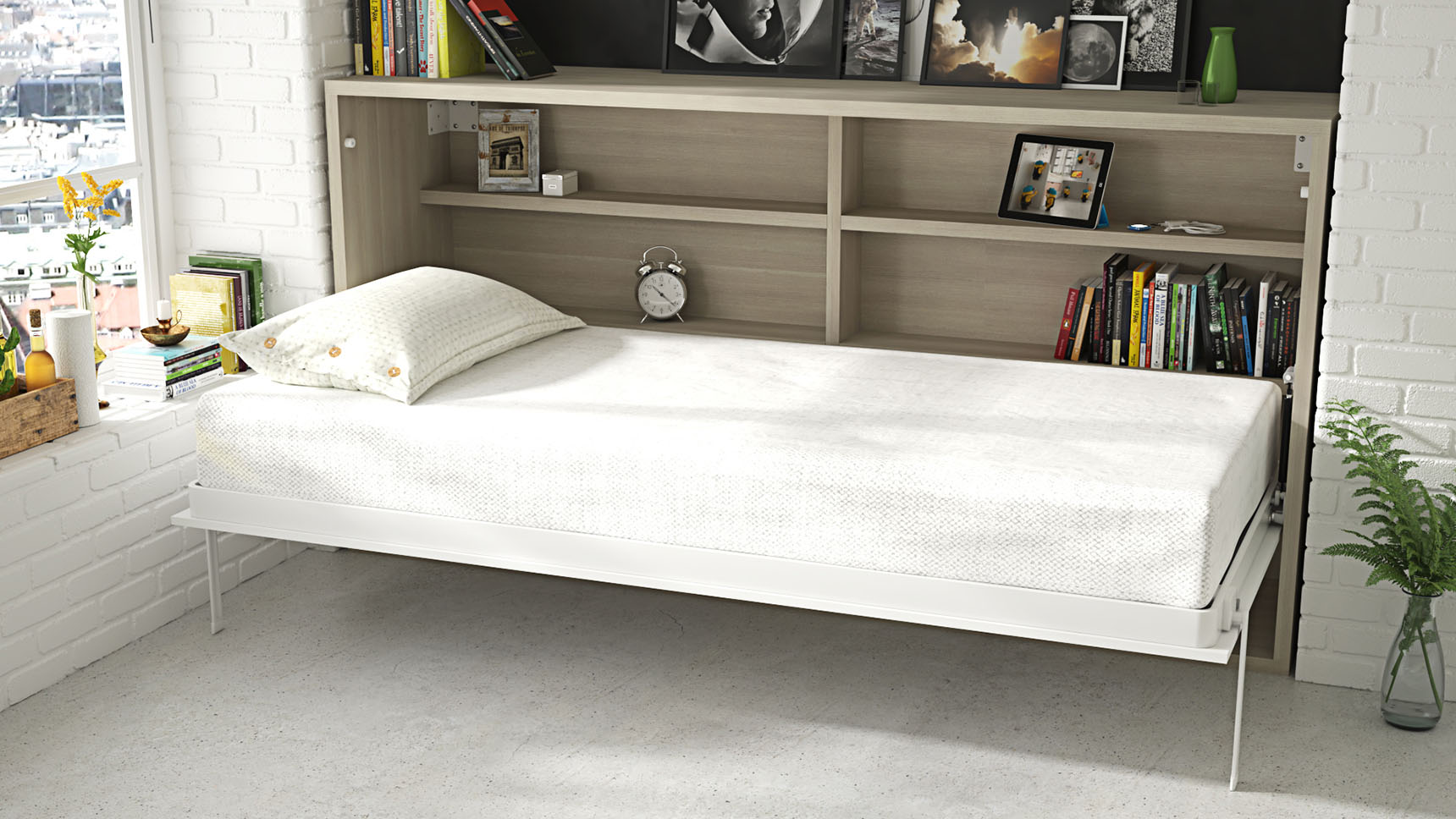Cama abatible soft ih143