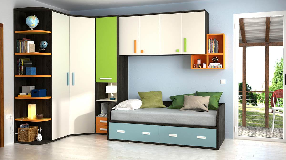 Armario Rinconero Juvenil Ikea ~ Armario Esquinero Juvenil Dormitorios Infantiles Con Armarios Normales Y En Esquina With