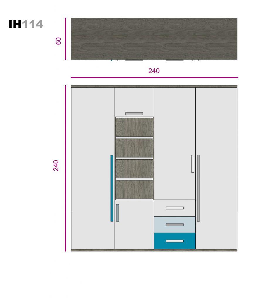 elemento de libre configuración ih114