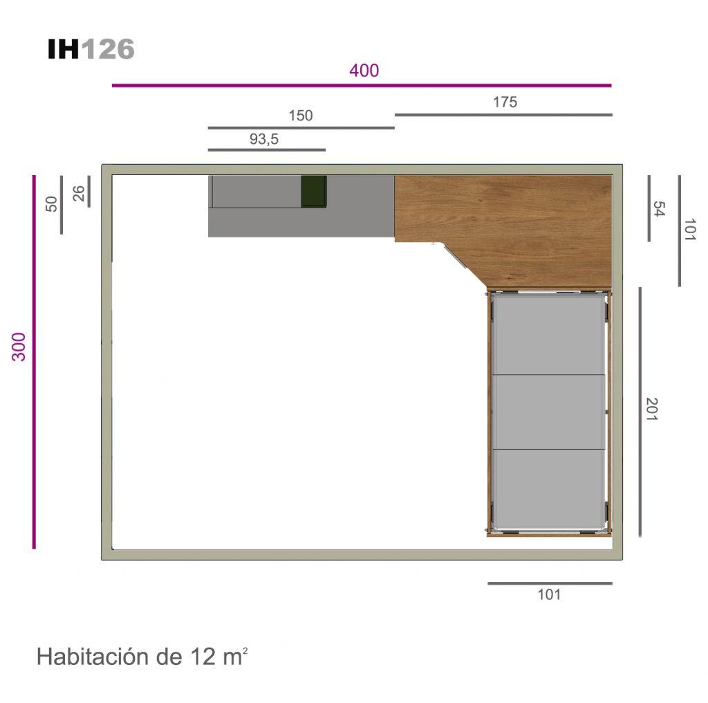 armario cubik ih126