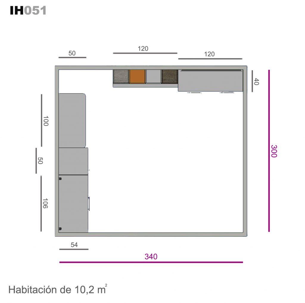 cama abatible vertical ih051