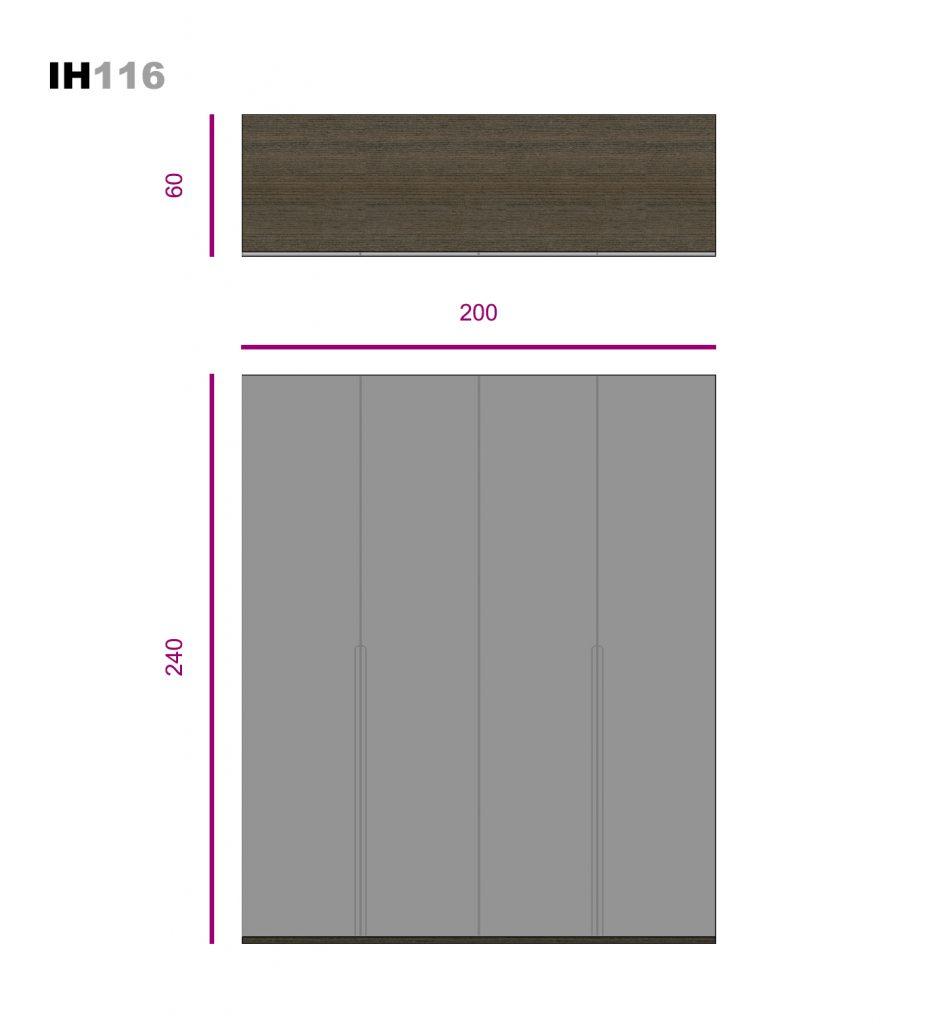 elementos de libre configuración ih116