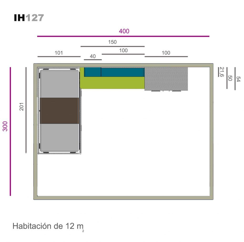 nido auxiliar ih127