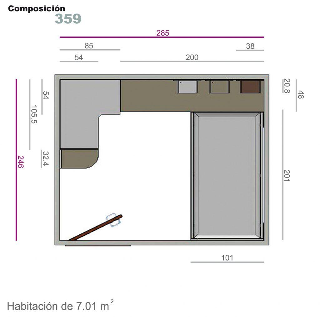 compacto cajones 359