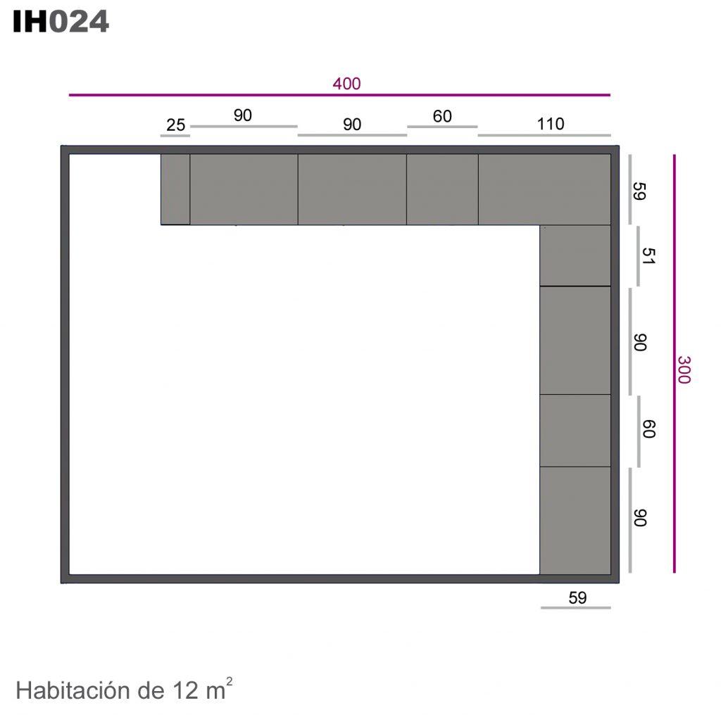 armario recto ih024
