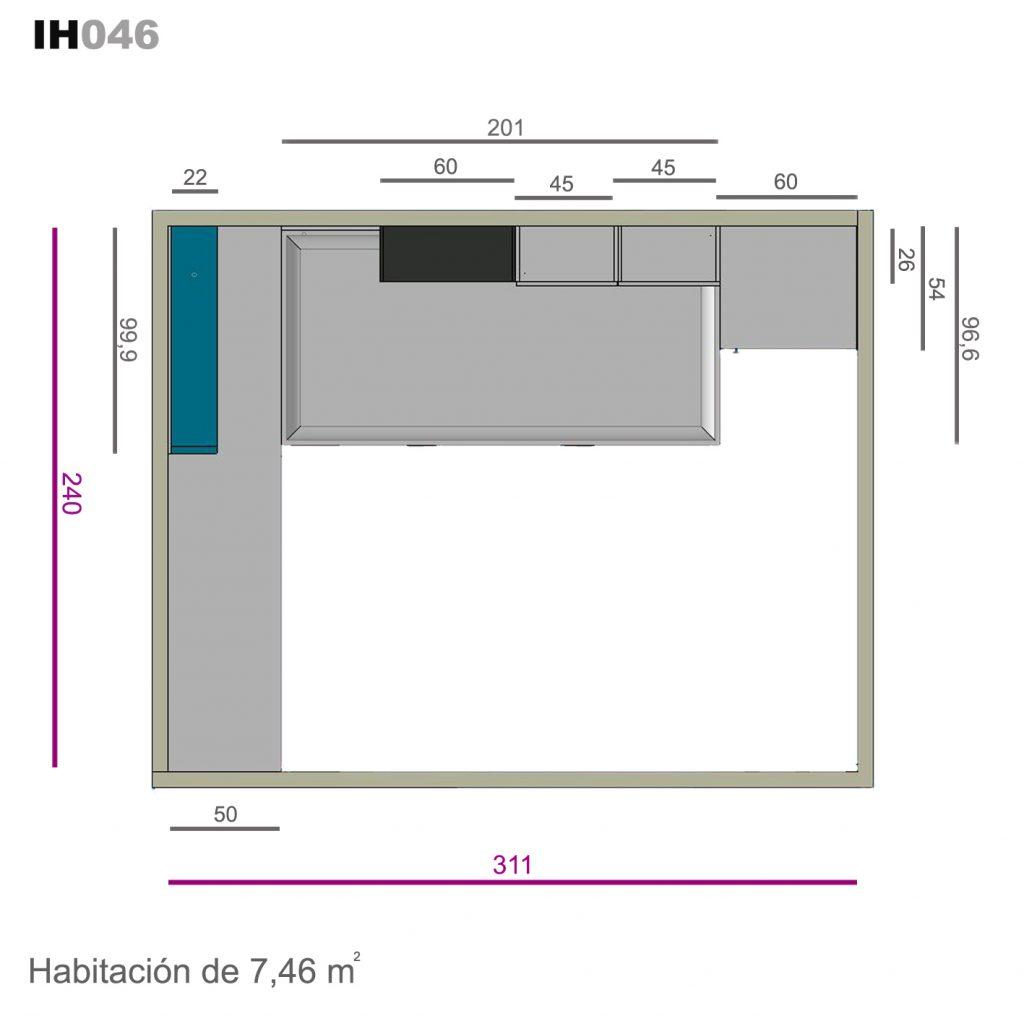 nido base 30 auxiliar ih046