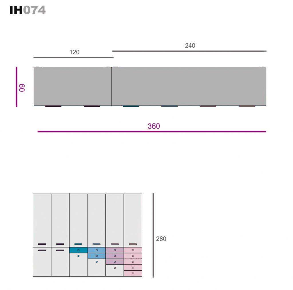 elementos de libre configuración ih074
