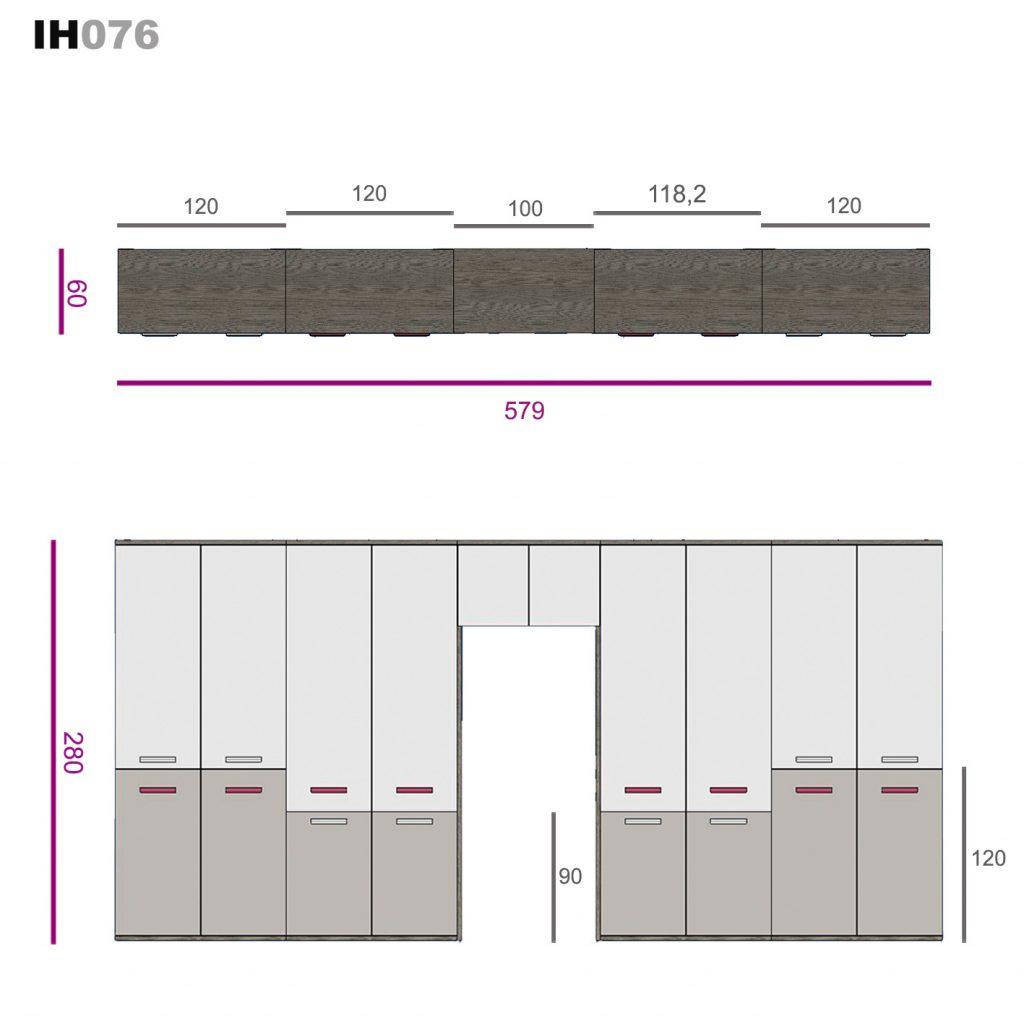 elementos de libre configuración ih076