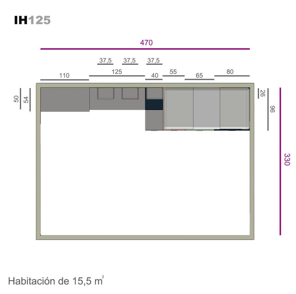 sistema box ih125