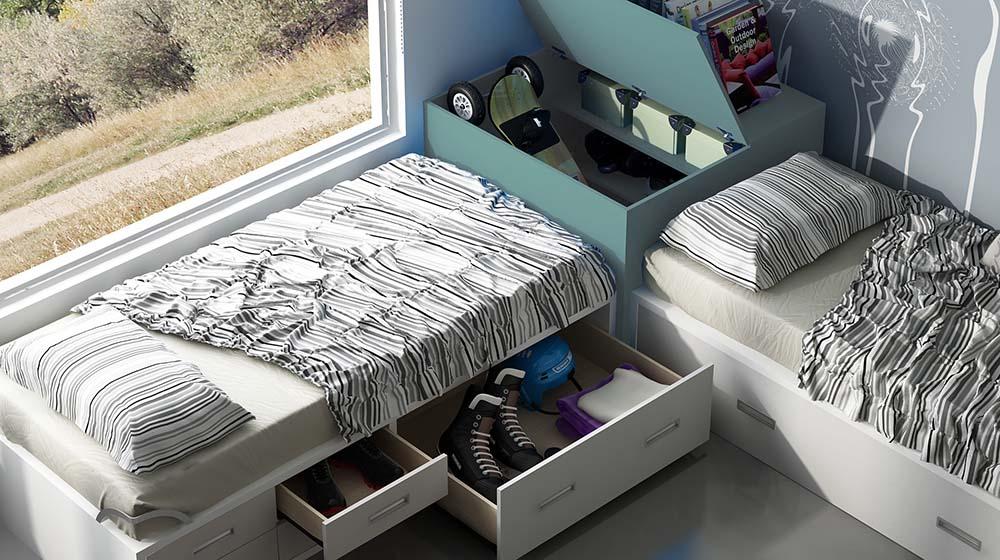 camas nidos base30 ih011