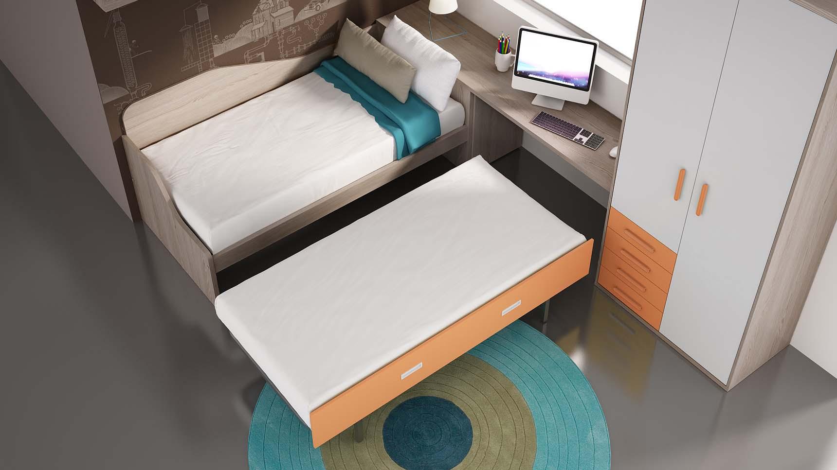 cama nido auxiliar ih032