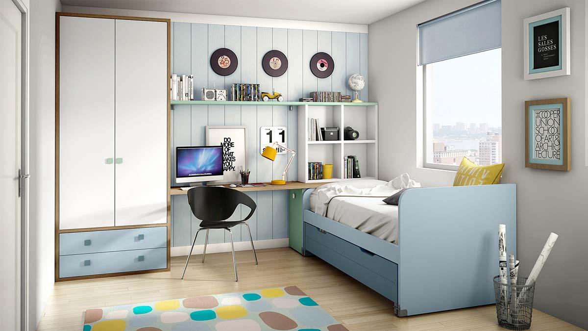 cama compacto bajo ih083
