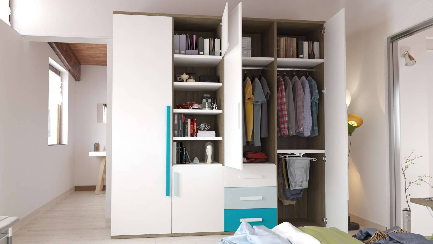 Ideh bita armario de libre configuraci n - Disenador de armarios ...