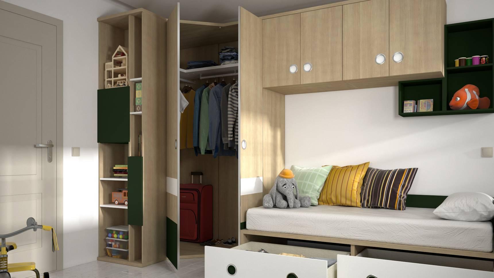 Dormitorio Juvenil IH144 – idehabita.com Detalle01