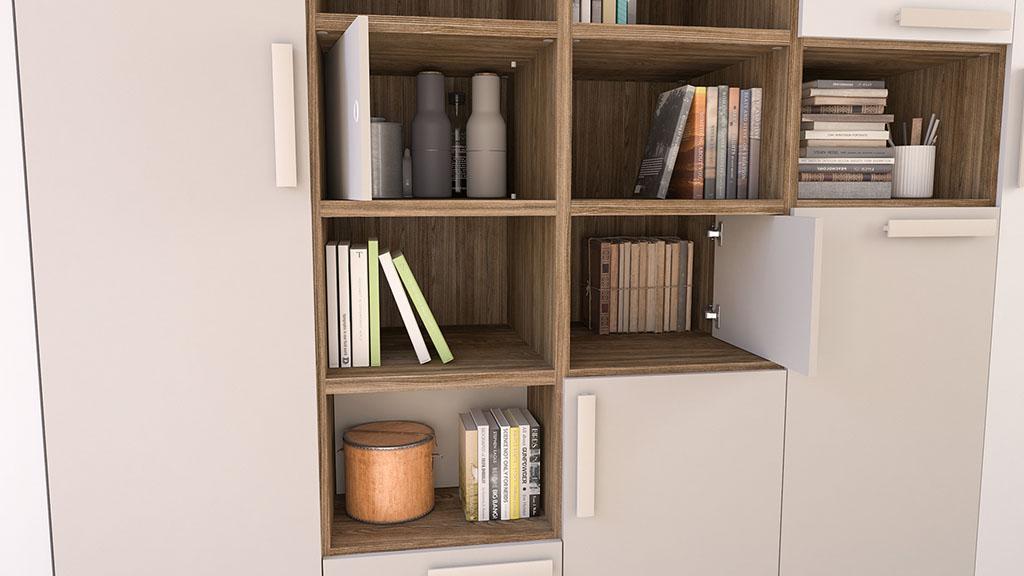 ideh bita lits escamotables et armoire biblioth que. Black Bedroom Furniture Sets. Home Design Ideas