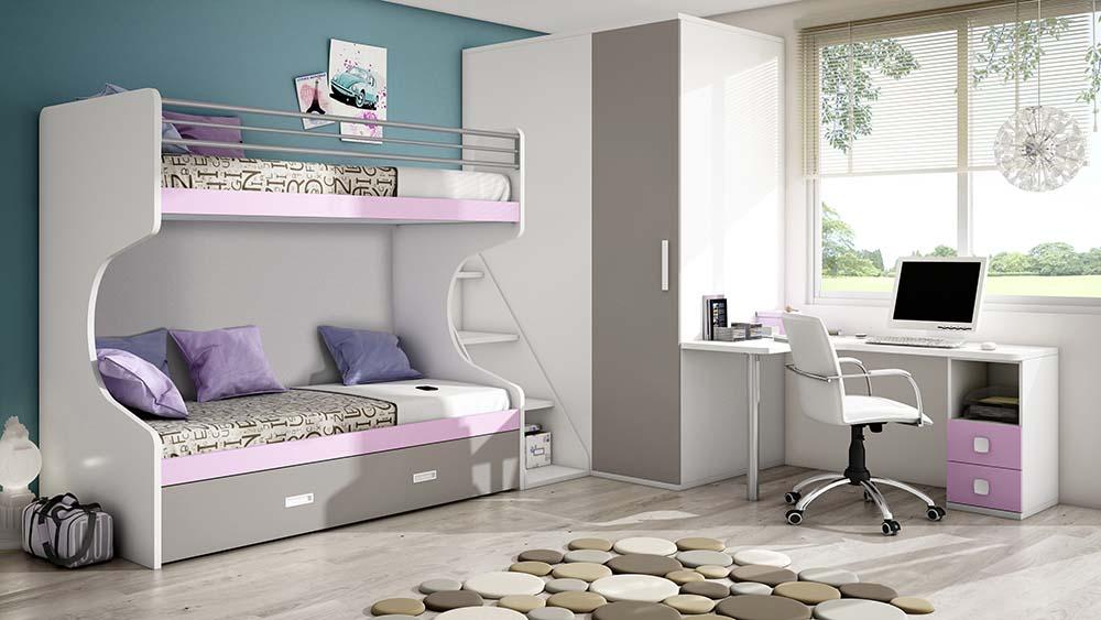 dormitorio juvenil con linteras IH061_CDI