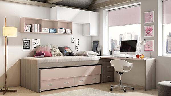 Dormitorio Compacto IH086