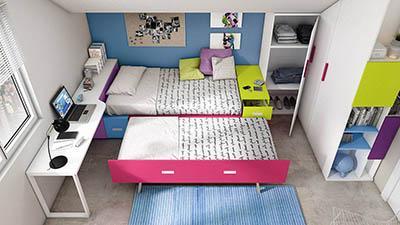 Dormitorio Sistema box IH066_detalle_01