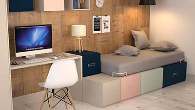 Dormitorio Sistema Box IH125_d1