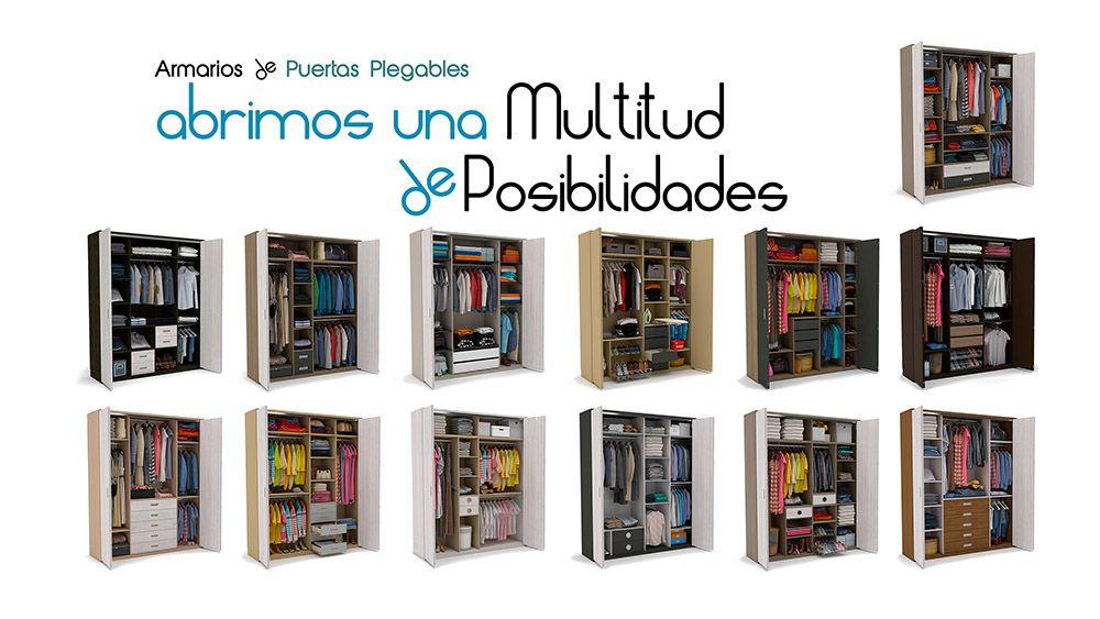Armarios con Puertas Plegables Idehabita.com